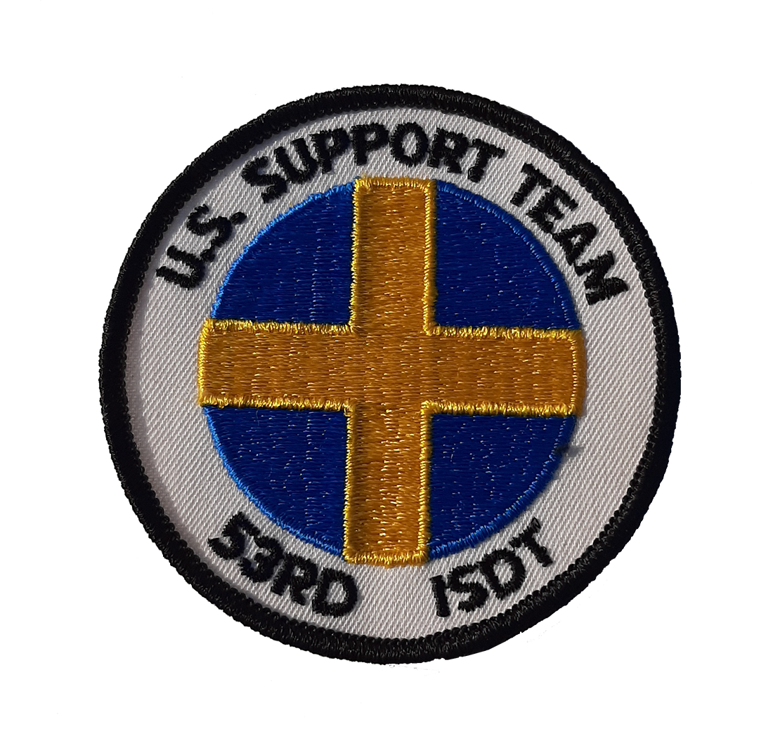 53rd ISDT US Support Team Patch
