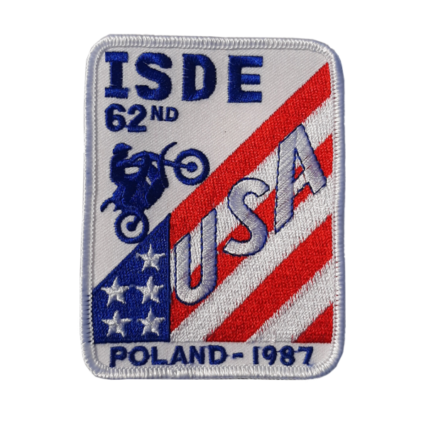 62ND ISDE Patch