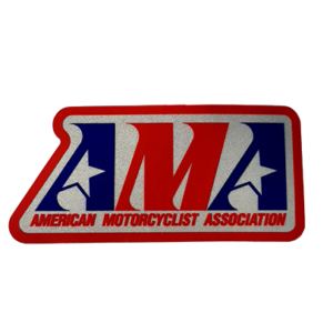 Vintage AMA Small Decal
