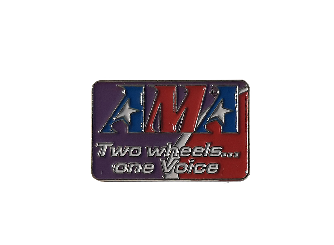 Two Wheels, One Voice Pin